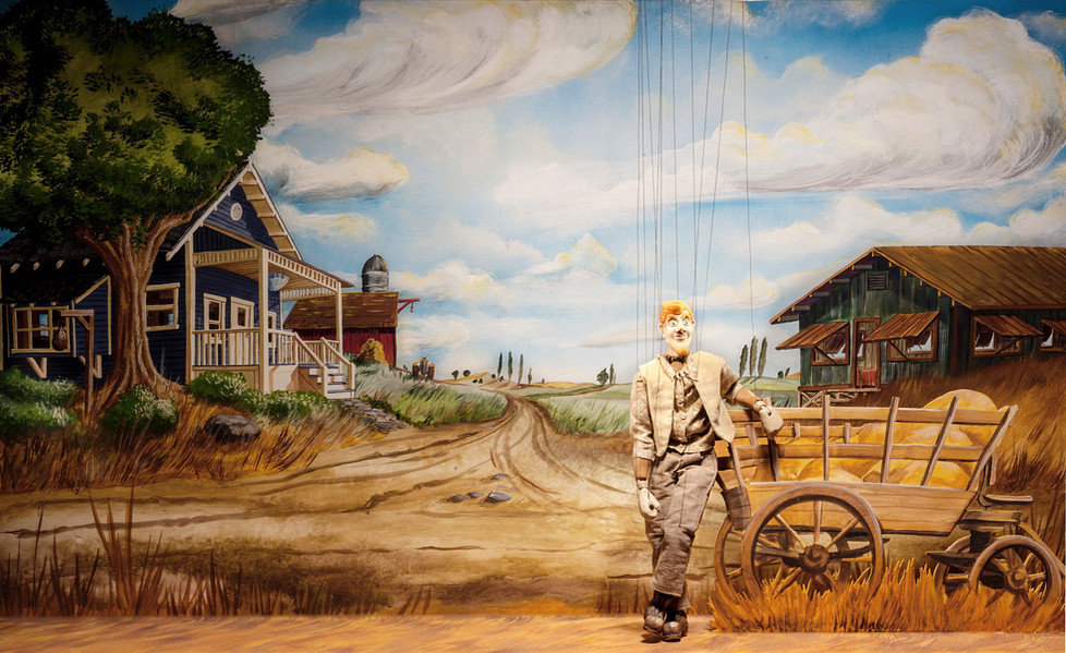 Jack Armstrong Surveys the Fields