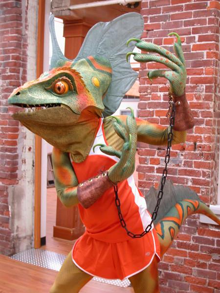 Basil The Lizard