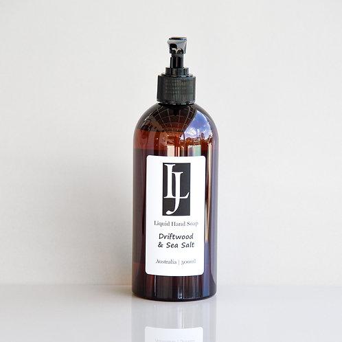 Liquid Soap - Driftwood & Sea Salt