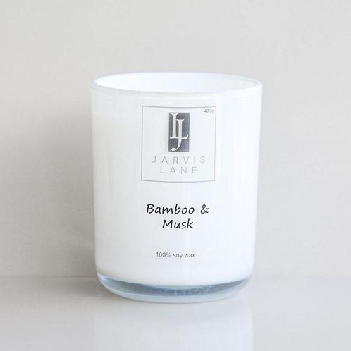 Big Burn Jar - Bamboo & Musk
