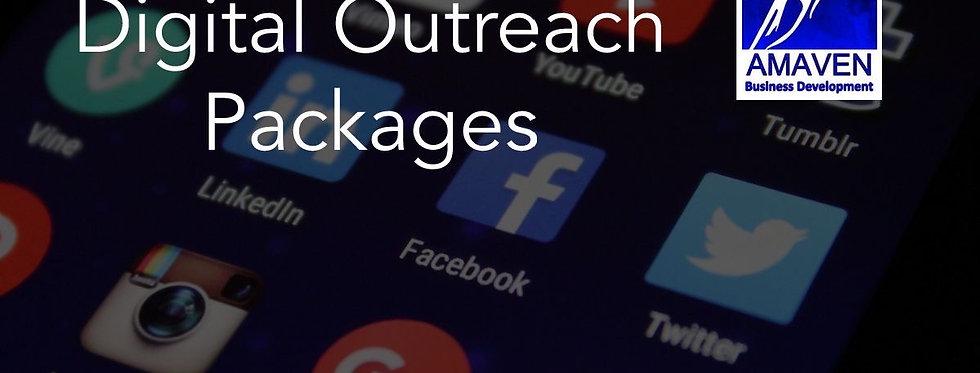 Multi Platform Digital Outreach (monthly fee)