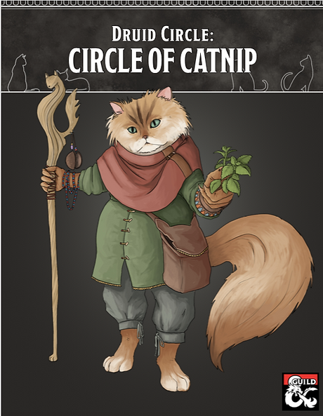 Catnip Druid Cover