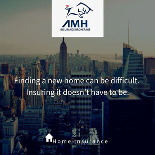 Finding a new home can be difficult....Insuring it doesn't have to be