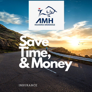 SAVE TIME & MONEY in NJ , PA , NY on Your Insurance  with AMH Insurance Brokerage