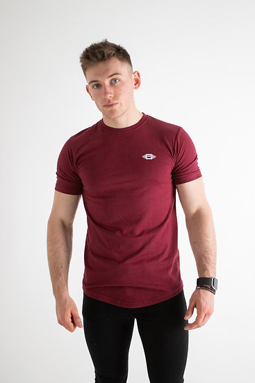 Buzz Physique Manhattan T-Shirt - Burgundy