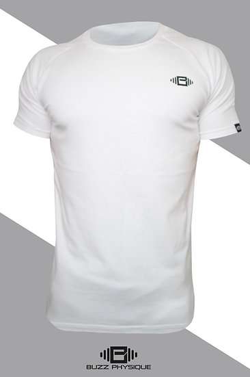 BP Aspire Muscle Fit T-Shirt - White
