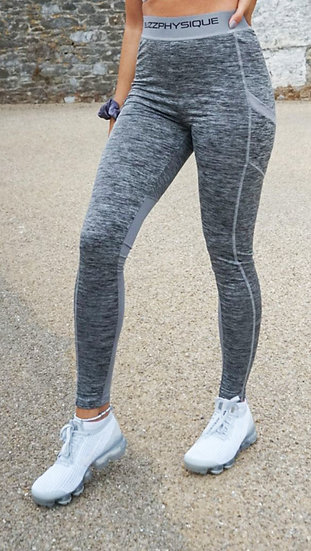 Buzz Physique Dynamic Leggings - Grey