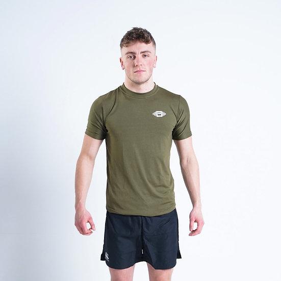 BuzzPhysique Xtreme Performance T-Shirt - Olive