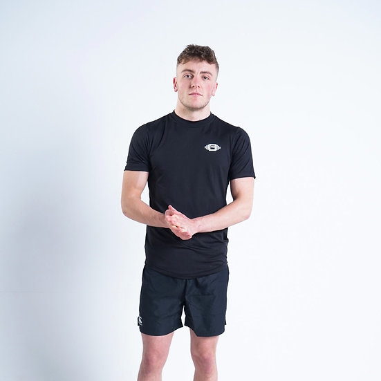 BuzzPhysique Xtreme Performance T-Shirt - Black
