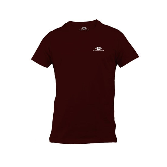 Lifestyle Performance T-Shirt - Burgundy