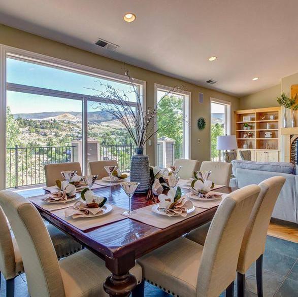 Oversized Dining Room
