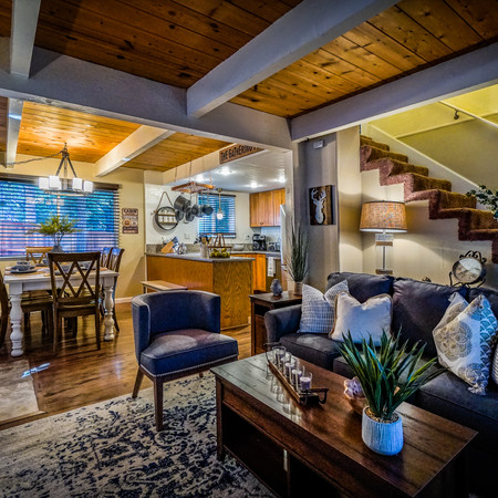 Cottage, Rustic & Contemporary