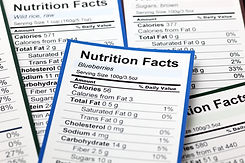 Lots of Nutrition facts. Close-up..jpg
