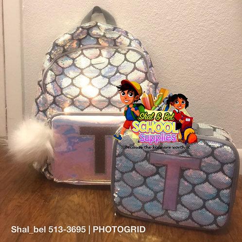 Justice T backpack set