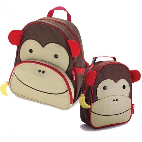 Skip hop monkey bag set