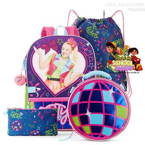Jojo 5pc set with round lunch bag