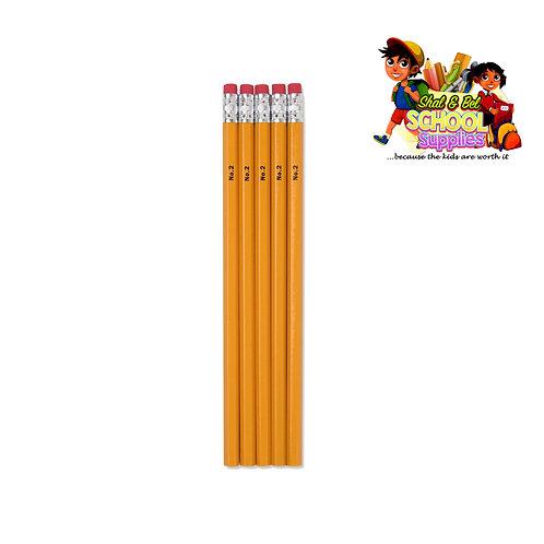 5 pack no.2 pencil