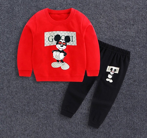 Red Mickey designer inspired set
