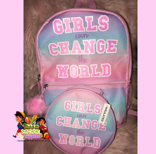 Girls can change the world