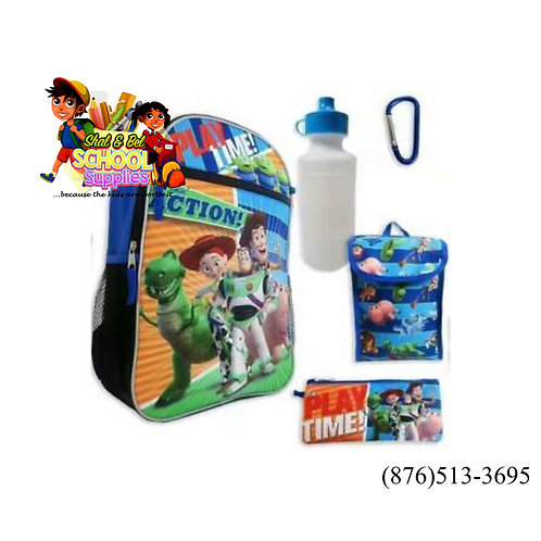 """Toy story 5pc backpack 16"""""""