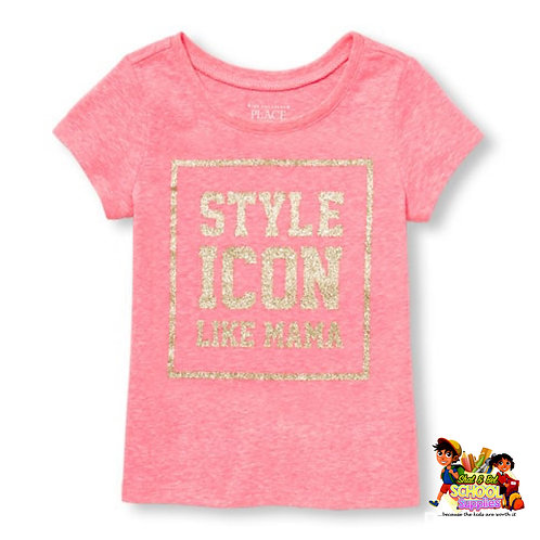 Girls style icon top