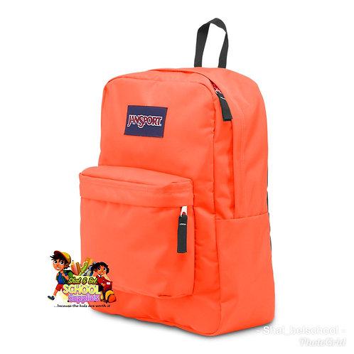 Neon orange original jansport