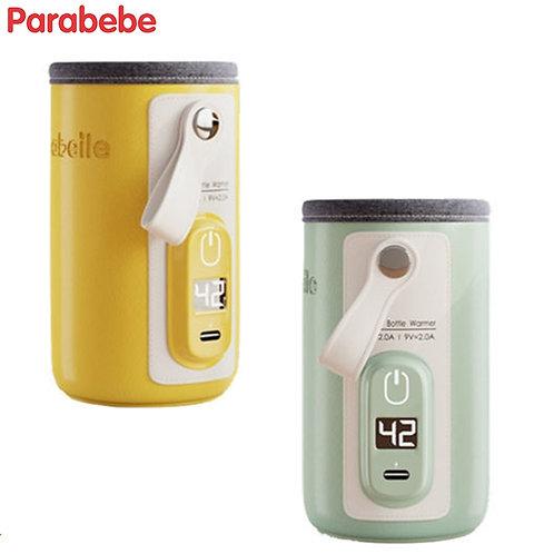 Parabebe USB Charging Bottle Warmer Bag Insulation