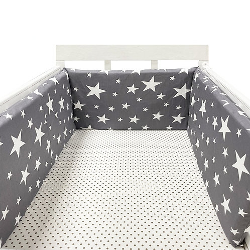 Baby Nursery Nordic Stars Design Baby Bed