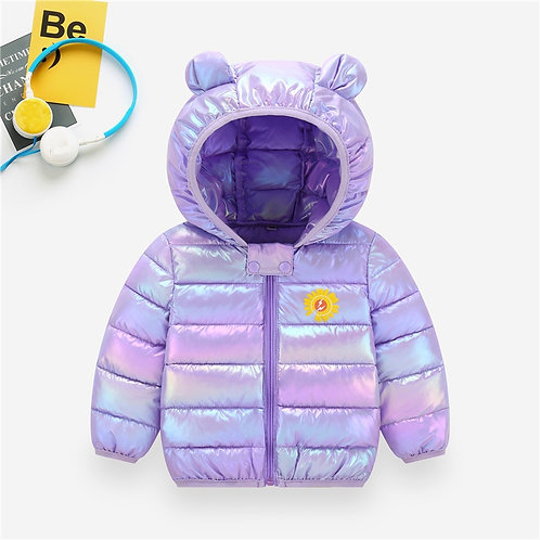 Cute Children's Down Padded Jacket 1-8 Years Old
