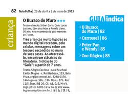 Guia da Folha SP, 26-04-2013
