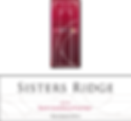 2016 Sisters Ridge Pinot Noir Front Labe