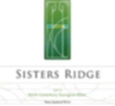 2015 Sisters Ridge Sauv Blanc Front Labe