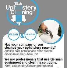 Bali Upholstery Cleaning
