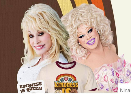Nina West & Dolly Parton team up with a new collection.