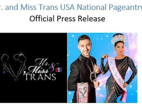 Mr. and Miss Trans USA National Pageantry cancels 2020 National Pageant