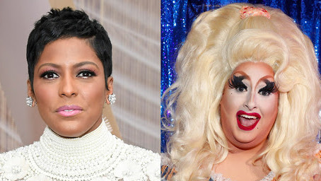 RuPaul's Drag Race Sherry Pie appears on Television in a Interview and host faces backlash.