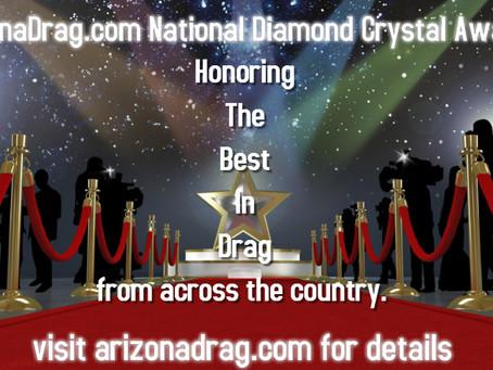 Inaugural National ArizonaDrag.com Diamond Crystal Awards Announced!