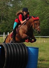 Mary Fischer Jumping.JPG