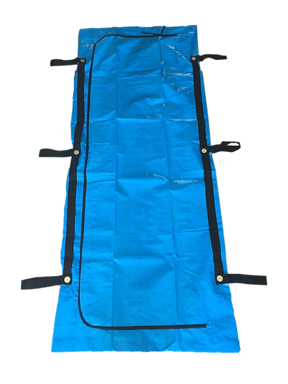 FEMA BLUE CHLORINE-FREE BODY BAGS - 10 GAUGE