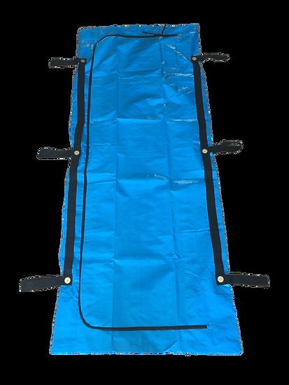FEMA BLUE CHLORINE-FREE BODY BAGS - 10 GAUGE