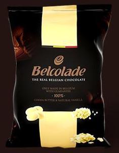 Luxurious Belcolade White Chocolate