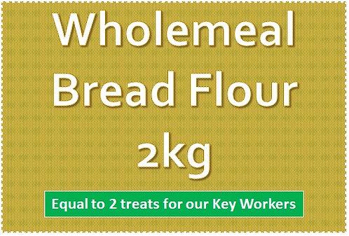 Wholemeal Bread Flour 2kg
