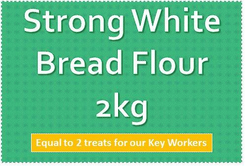 Strong White Bread Flour 2kg