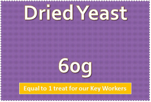 Dried Yeast 60g