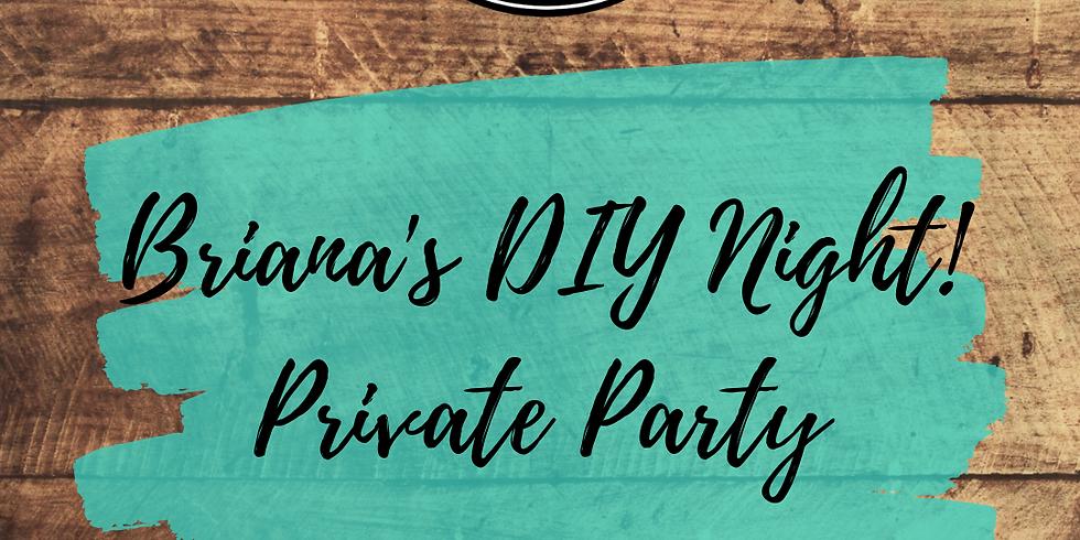 Briana's Private Party