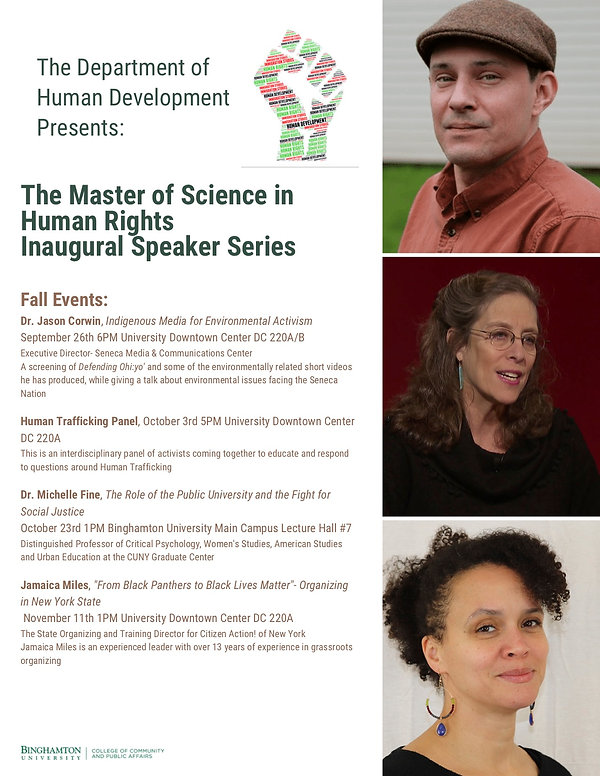 The Master of Science in Human Rights Pr