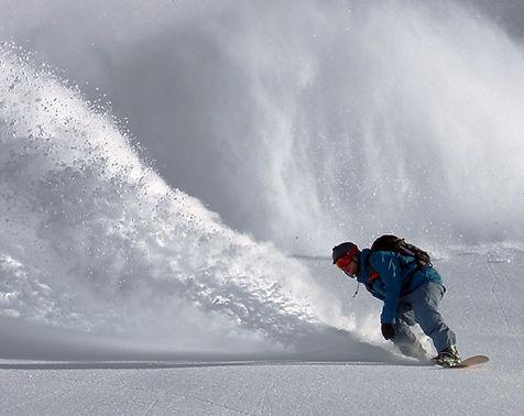 Snowboarder on street artist and graphic designer Ivan Preciado website.