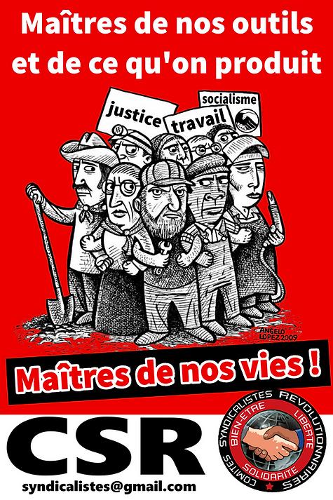 Nouvelles formes du salariat, comités syndicalistes révolutionnaires