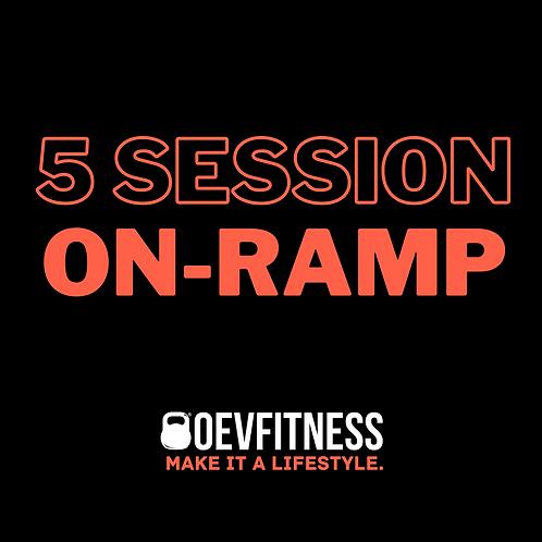5 Session On-Ramp Program