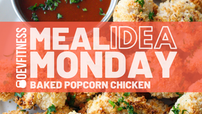 Healthy Baked Popcorn Chicken
